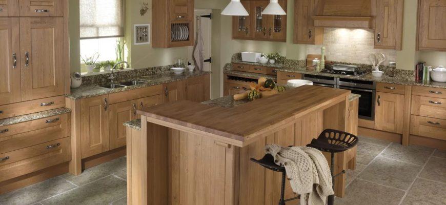 кухня дерево