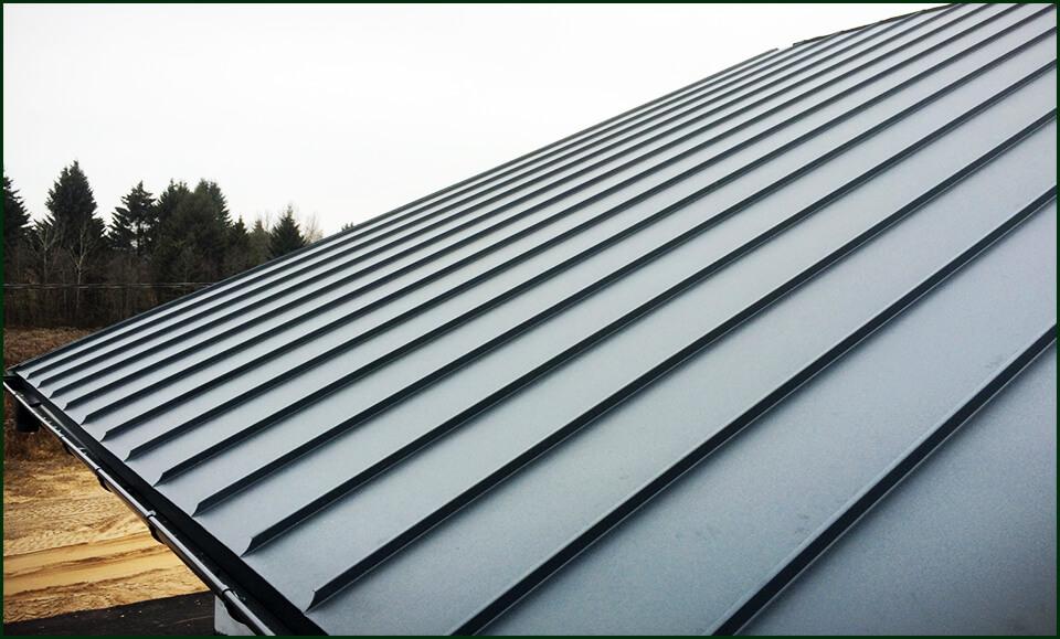 Виды металлических крыш