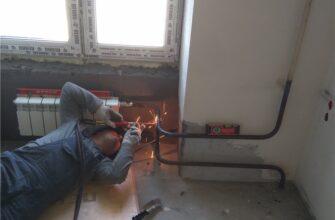 Замена батареи и труб отопления в Москве