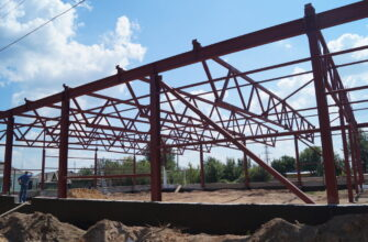 Строительство промышленных обьектов в Москве