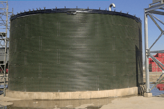 гибридный резервуар для хранения нефти