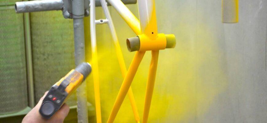 оборудование для порошковой покраски от производителя